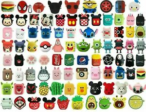 AirPods Silicone Case Cute 3D Cartoon Protective Cover For Apple AirPod 2 1 🔥