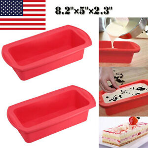 Silicone Molds Cake Pans Baking Loaf Bread Pan Non Stick Microwave oven Safe