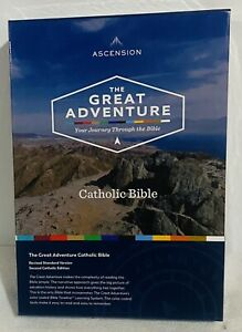The Great Adventure Catholic Bible. NEW FREE PRIORITY MAIL