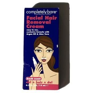 Completely Bare Facial Hair Removal Cream Control Hair Del. $9.00
