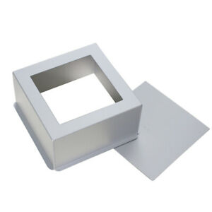 Aluminum Alloy Bread Mold Square Cake Pan Bakeware Baking Mould Reliable