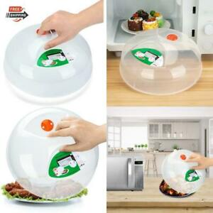 Microwave Plate Cover For Food 115 BPA Free Dishwasher Safe Kitchen Free Plastic