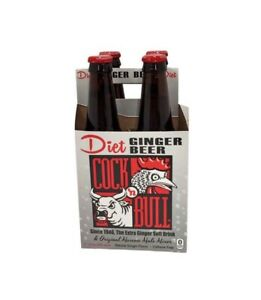 Cock n Bull Diet Ginger Beer Since 1946 Extra Ginger Soft Drink