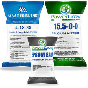 MASTERBLEND 4-18-38 Fertilizer MASTER COMBO KIT (25 Pounds)