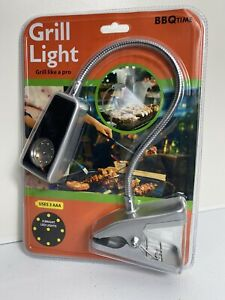 Barbecue Grill Light Clamp On Style 9 LED Lights Battery Powered