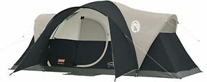 Nice Tent Camping Coleman 8 Person Pop Up Weatherproof Durable 16#x27; x 7#x27; x 6#x27;
