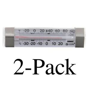 CDN ProAccurate® Refrigerator / Freezer Thermometer - Model: FG80 (Pack of 2)