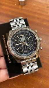 Breitling For Bentley B05 Unitime Ref. AB0521 S Steel 49mm Black Dial Box