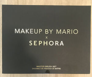 Makeup by Mario -Limited Edition Makeup By Mario X Sephora Master Brush Set BINB