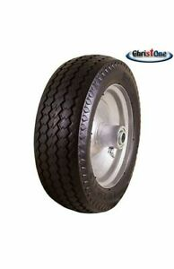 2 PK of NEW Sawtooth 4.10/3.50-4 LP Flat Free Hand Truck Utility Universal Tires