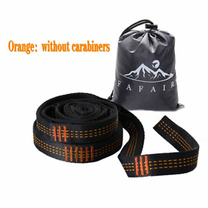 Camping Adjustable Tree Hanging Hammock Straps Extension Rope Family Set
