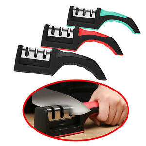 Knife Sharpener Kitchen Professional Ceramic Tungsten Sharpening System Tool
