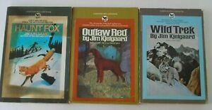 Lot of THREE 3 BOOKS by JIM KJELGAARD vintage Bantam paperbacks