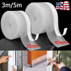 Door Bottom Seal Strip Weather Stripping Self Adhesive Silicone Draft Stopper
