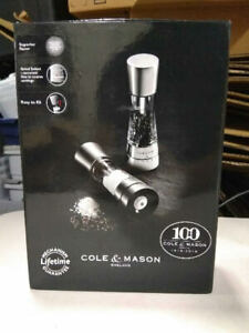 Cole & Mason Derwent Salt And Pepper Stainless