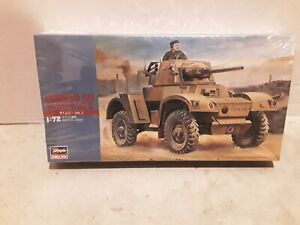 Hasegawa Armoured Car Daimler Mk. II 1 72 scale #Mt 24 complete sealed kit
