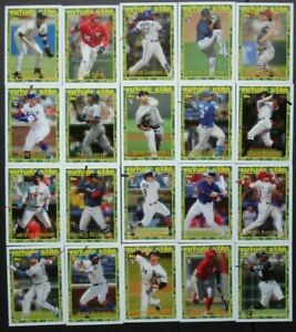 2019 TOPPS ARCHIVES FUTURE STAR SET 25 CARDS w GUERRERO ALONSO JETER ACUNA SOTO