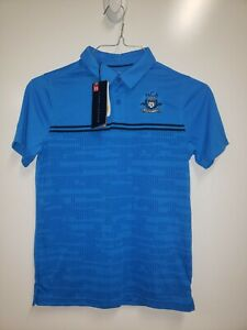 Under Armour Youth X Large Blue Golf Polo Shirt New With Tags! $14.99