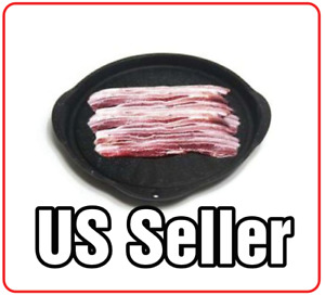 Korean BBQ Non Stick Coating Barbecue Grill for Gas Stove Pork Belly Pan