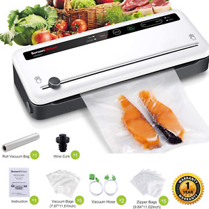 Commercial Vacuum Sealer Machine Seal a Meal Automatic Food Saver System