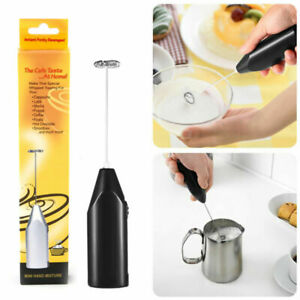 Electric Milk Frother Whisk Mixer Stirrer Drink Foamer Coffee Egg Beater Kitchen
