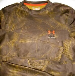 Under Armour ® Cold Gear Camo Vail Colorado M MD Medium Top New NWOT $23.96
