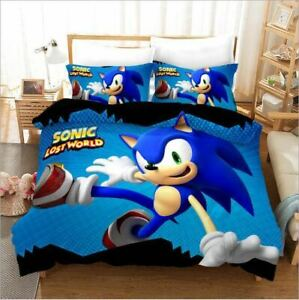 Sonic the Hedgehog Lost World Single/Double/Queen/King Bed Quilt Cover Set