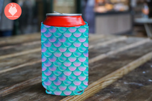Mermaid Scales Beer Drink KOOZIE® Gift Beverage Cooler