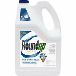 Roundup 1.25 Gal Ready To Use Refill Weed & Grass Killer III 2 pk