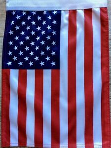 "AMERICAN SUPER HEAVY DOUBLE THICKNESS GARDEN Flag(11""x15)"