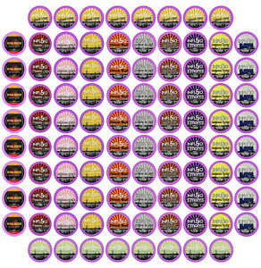 96 Count Variety Pack Flavors Only 12 Flavored Blends Single Serve K Cup Pods