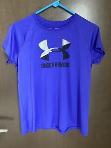 Girls Under Armour T Shirt Loose Fit Size Youth XL Lightly Used $14.99