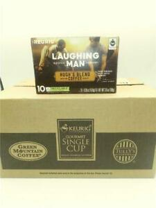 Laughing Man Hugh's Blend, Single Serve Coffee K-Cup Pod, Medium Roast 60 ct