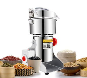 Newtry 700G Electric Grain Grinder Spice Mill 2400W Stainless Steel High-Speed F