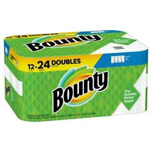Bounty Select-A-Size Paper Towels, White (12 rolls) = 26 Rolls 📦 Quick-120/Rool