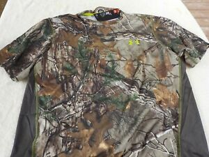 NWT Under Armour loose fit, Heat Gear T, men's XL, camo, Scent Control, $45 $21.99
