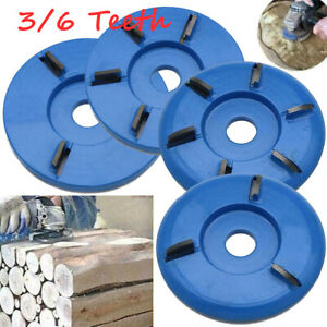 6 Teeth Wood Carving Disc Tool Milling for Opening Aperture Angle Grinder