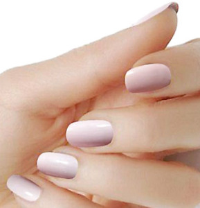 Pink solid color wraps solid nail polish strips M18 street art FREE SHIPPING $5.20