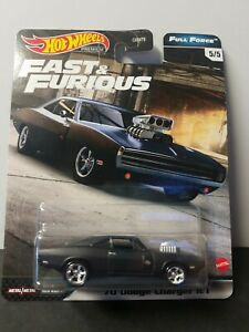 Hot Wheels Premium 2020 Fast & Furious FULL FORCE 5 5 '70 Dodge Charger R T 🔥