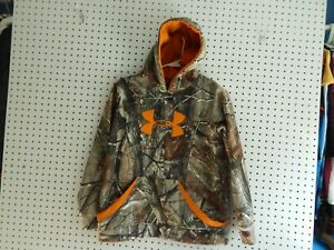 Boys Youth Under Armour camouflage hoodie YXL $15.00