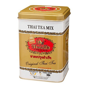 The Original Thai Tea Extra Gold Number One Brand 5 Oz 125g 50 Tea Bag