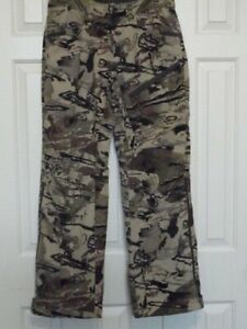 New! Mens UNDER ARMOUR STORM GRIT HUNTING PANTS BARREN CAMO 1347443 999 $79.99