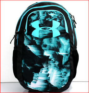 Under Armour SCRIMMAGE 18.5 Laptop Backpack Large 25 Liter BLACK Green 🌟NEW🌟 $64.95