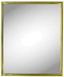 """Kole Imports Gold Trim Wall Mirror attractive Home Décor, 10x12"""", by StealStreet"""