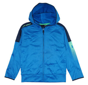 Under Armour Boys Blue Zip Up Hoodie Size 5 $12.99