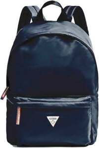 Guess Front Pocket With Triangle Log In Navy $77.56