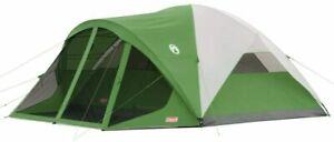 Nice Tent Camping Coleman 8 Person Dome Durable Screened Porch 15#x27; x 12#x27;