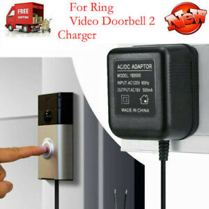 For Ring Video Doorbell 2 Pro Power Supply Battery Fast Charger Adapter Replace