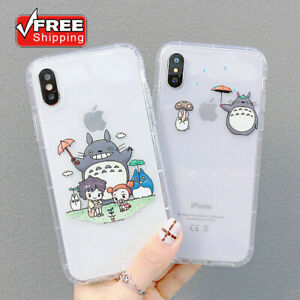 Cartoon Totoro Japanese Phone Case Cover For iPhone 11Pro 7 8Plus XR Xs Max Cute