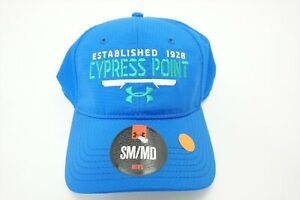 NEW Under Armour Cypress Point Hat FITTED Mens Small Blue Green FittedW $24.95